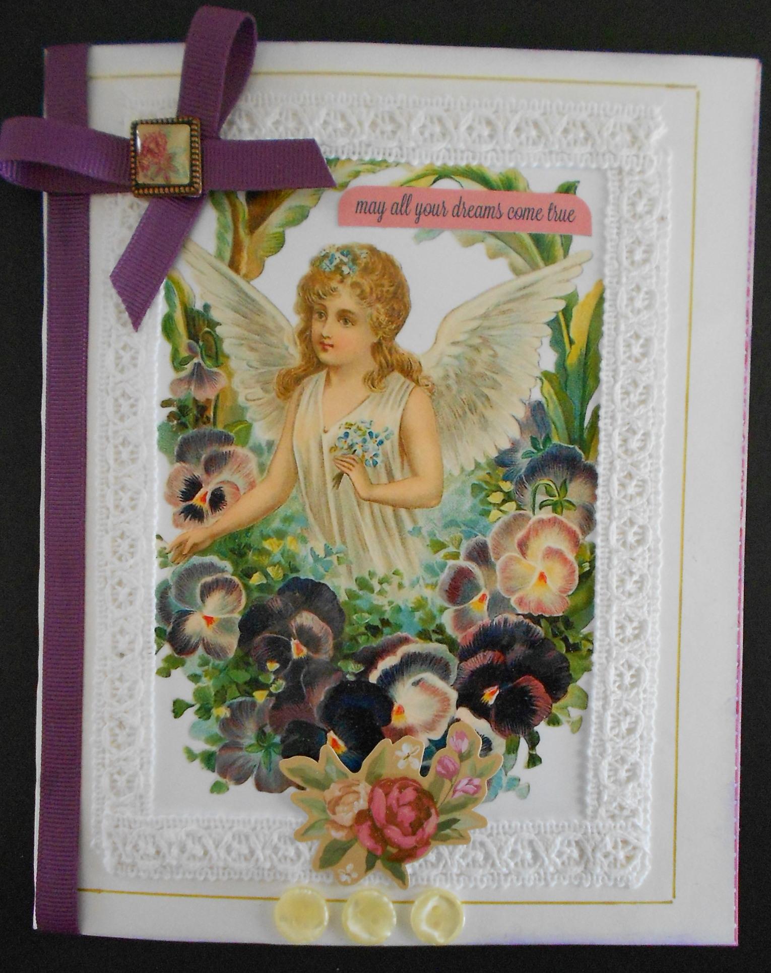 Handmade victorian greeting cards wattle lane victorian card m4hsunfo