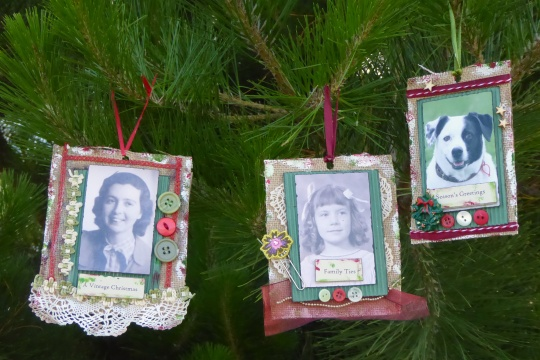 Ancestor Christmas Ornaments