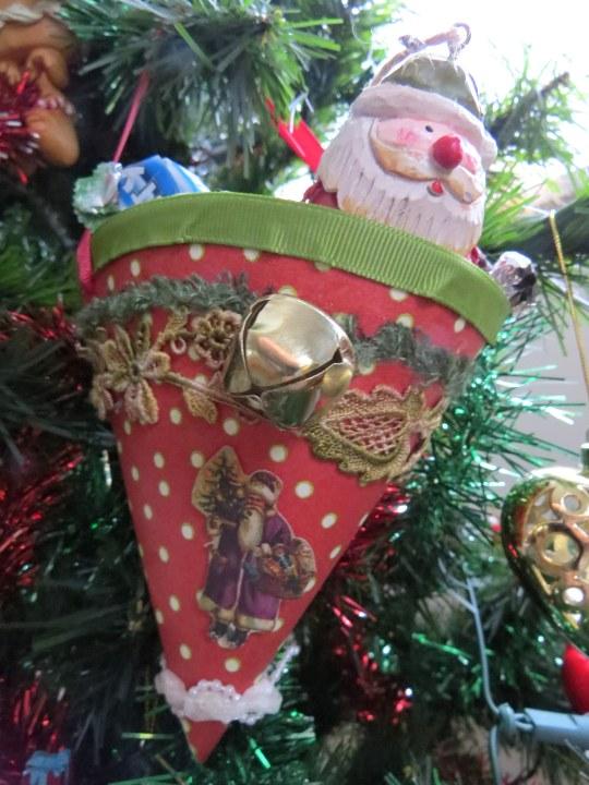 Christmas cornucopia